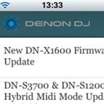 Denon DJ Launches iPhone App
