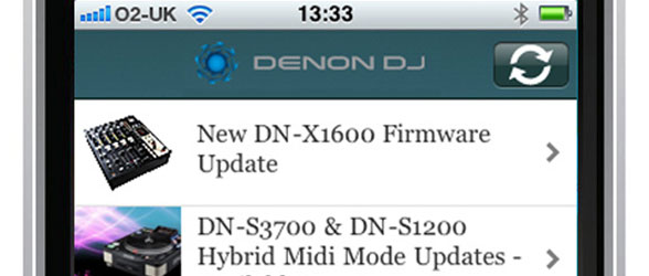 Denon DJ Application