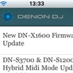 Denon DJ Launches iPhone App